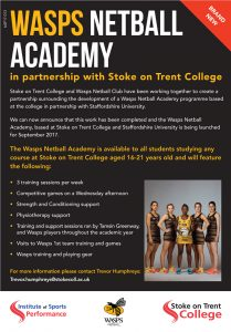 Wasps and SOT College Partnership
