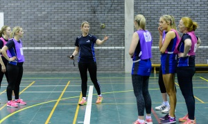 Women coaching
