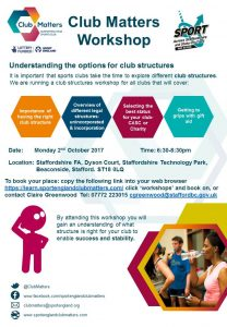 ClubStructures Workshop