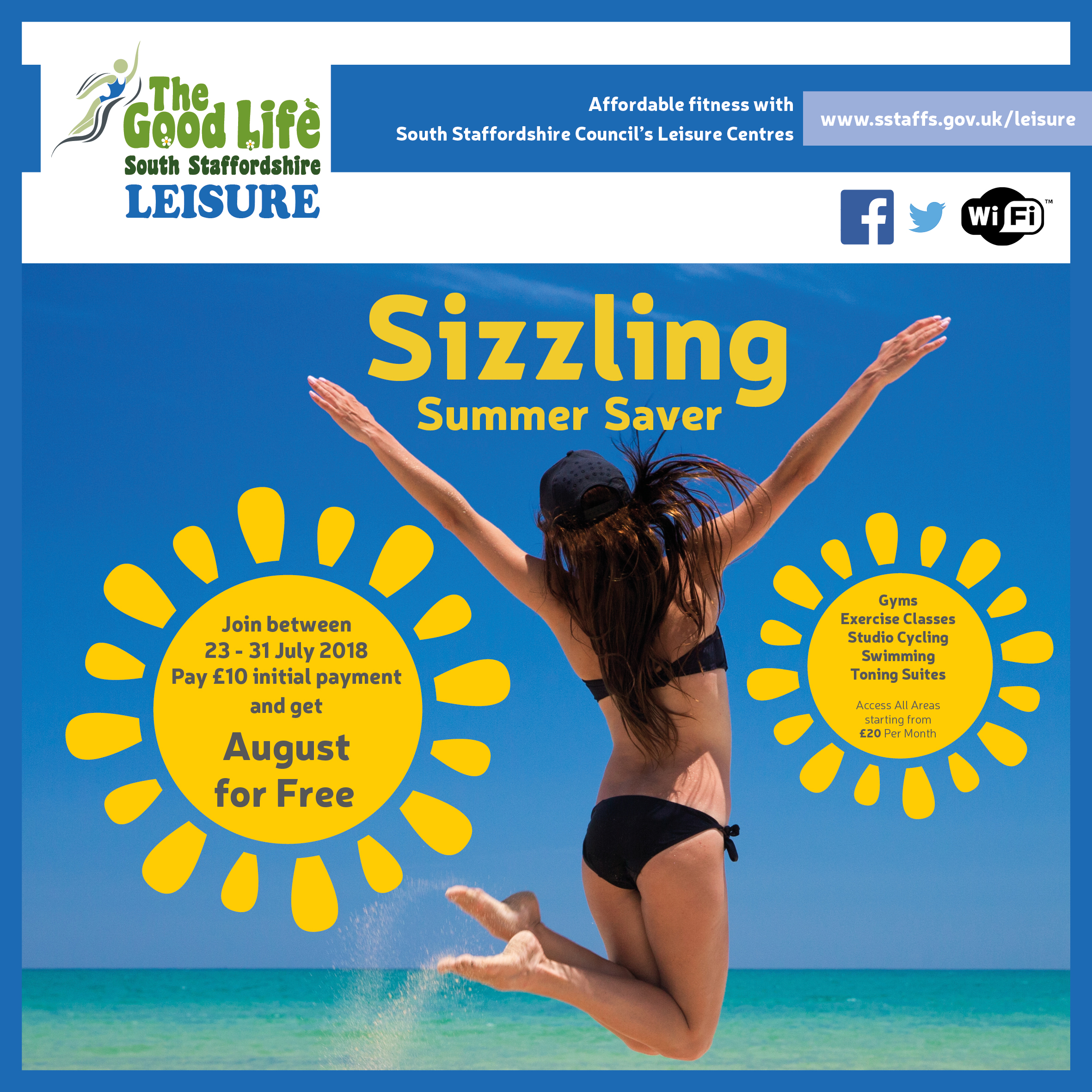 Sizzling summer saver