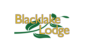 Black lake Lodge logo