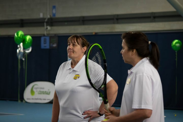 Claire And Jayne from The Cheslyn Hay tennis team