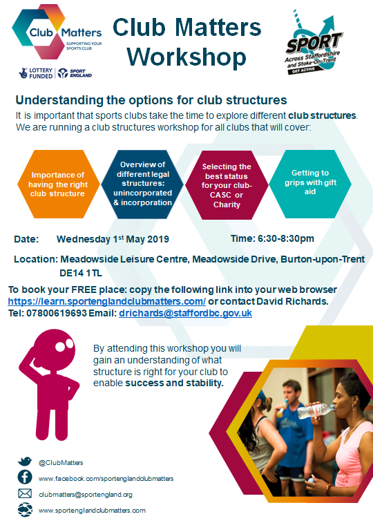 Club Structure Workshop poster