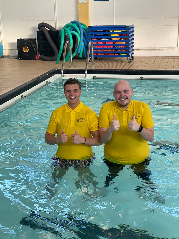 Penkridge Leisure Centre lifeguards